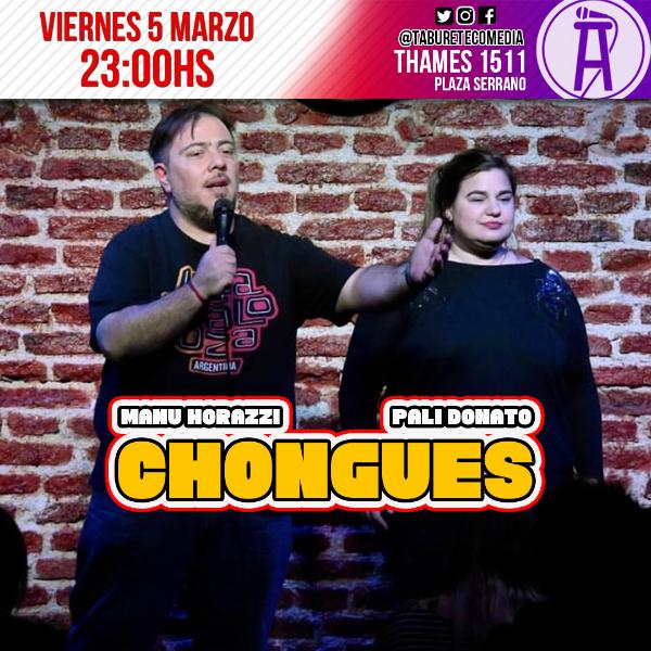 Chongues - Pali Donato y Manu Horazzi