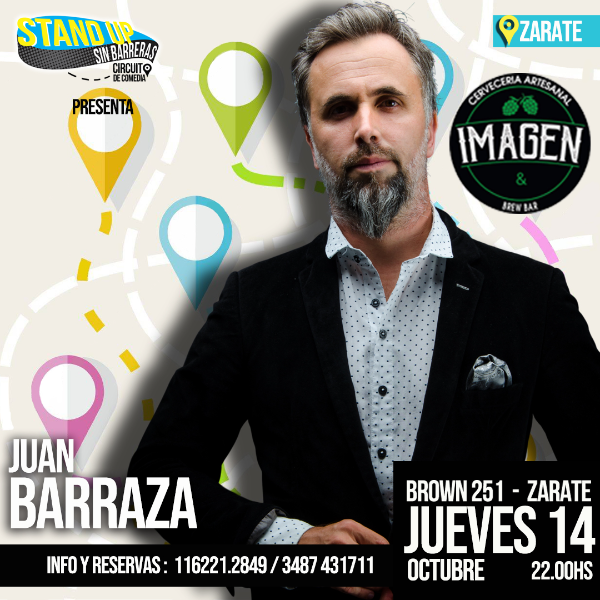 Juan Barraza en Zarate