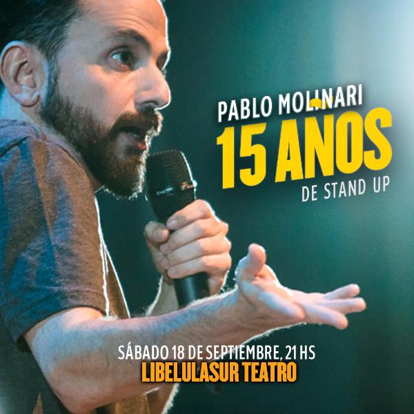 Pablo Molinari en Calafate