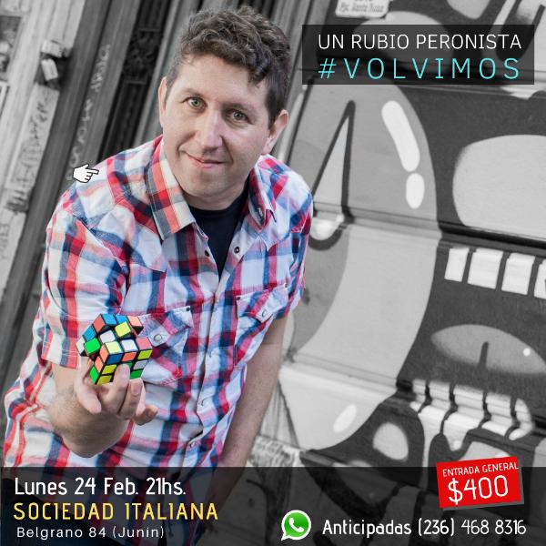 Un Rubio Peronista en Junín