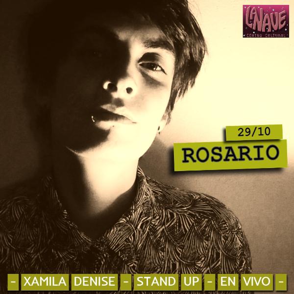 Xamila Denise en Rosario